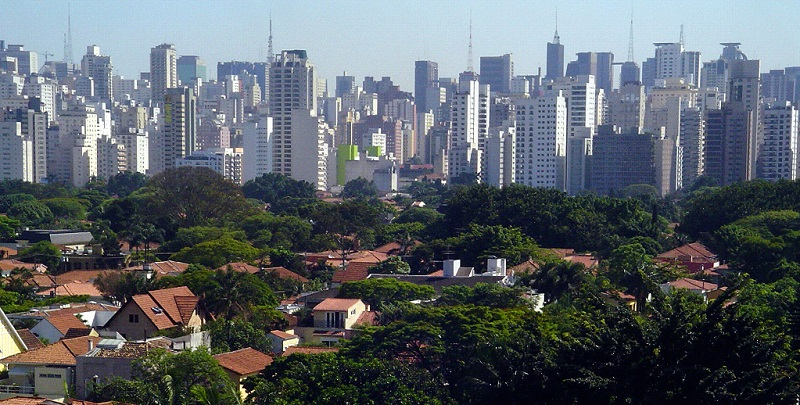 Jardins, best area to stay in Sao Paulo