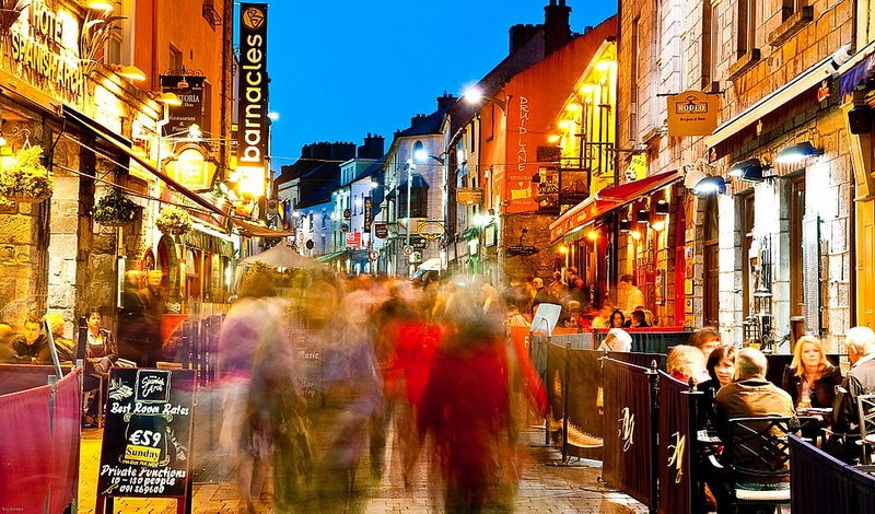 Quay Street, best area to stay in Galway