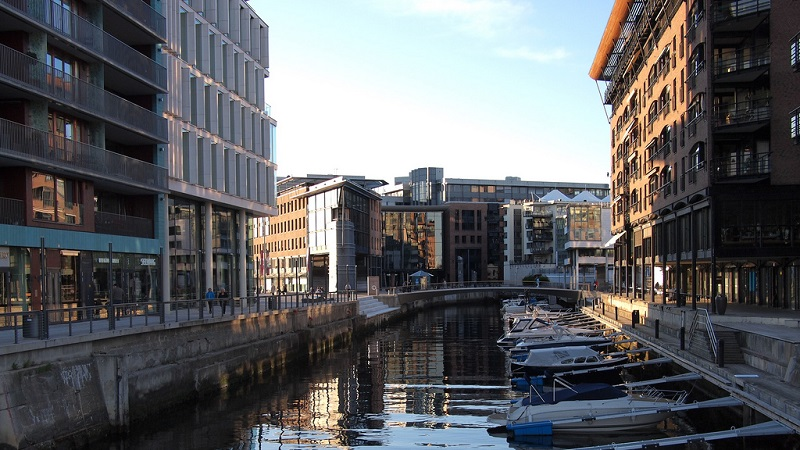 Aker Brygge, best area to stay in Oslo