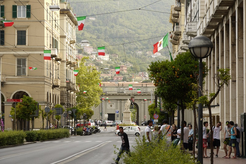 Historic centre, best area to stay in La Spezia