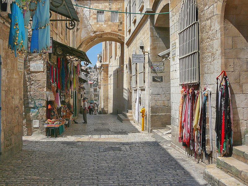 Stay in the Old Town of Jerusalem