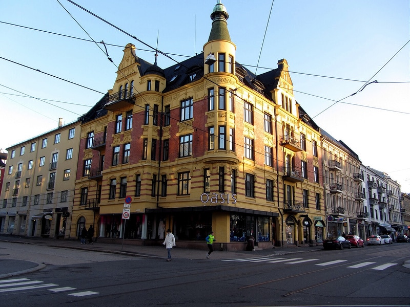 Majorstuen, best area to stay in Oslo