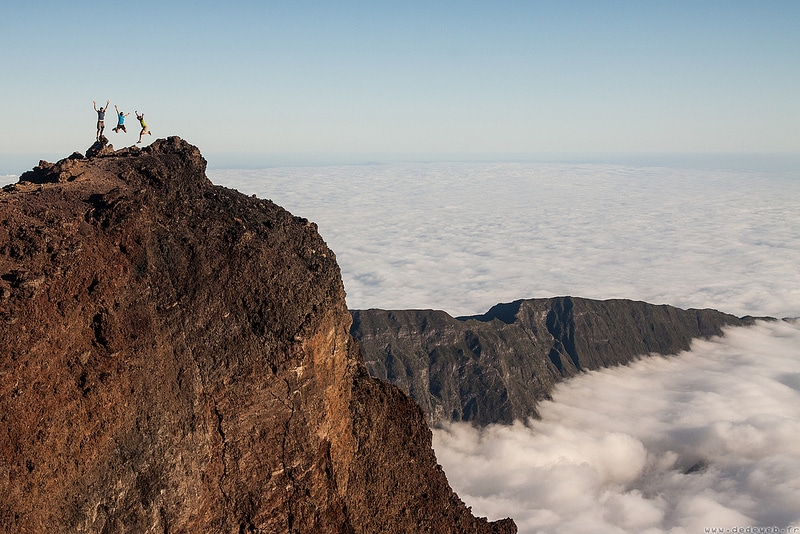 Stay near the Piton des Neiges, Reunion ISland