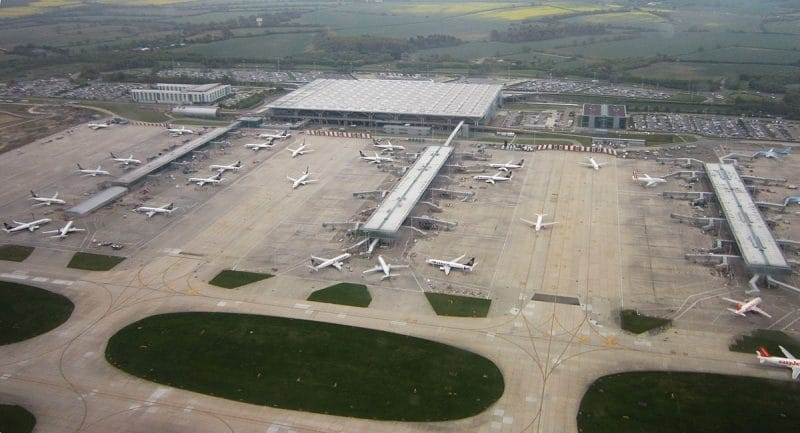 Book a cheap car park at London Stansted airport