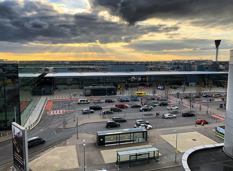 Free parking at London Heathrow airport