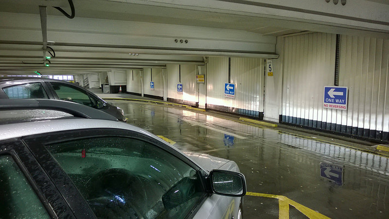 Free parking at Manchester airport