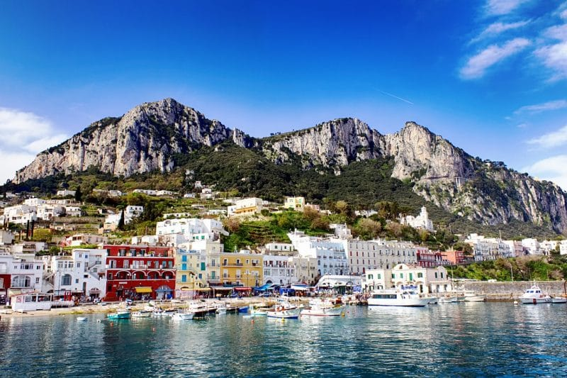 Stay in Capri