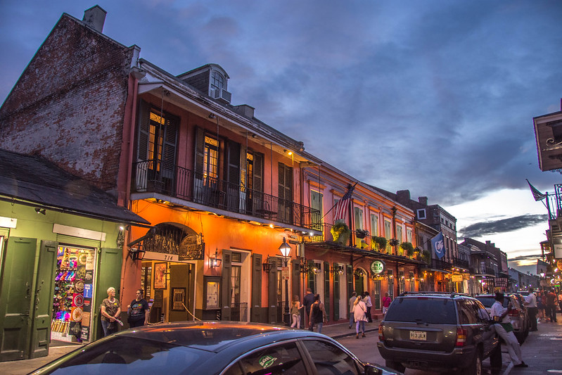 French Quarter, Old Square, New Orleans