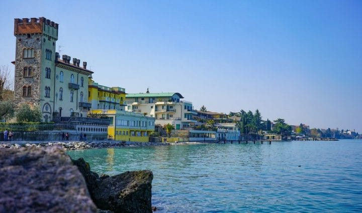 The best areas to stay around Lake Garda
