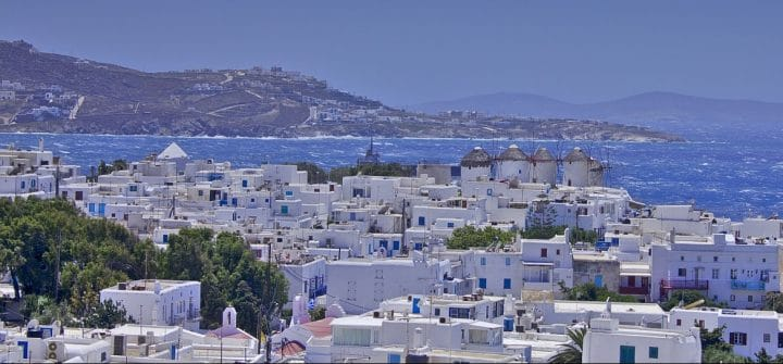 The best areas to stay in Mykonos