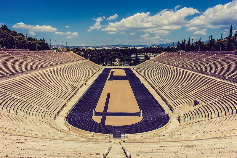 Visit the Olympic Stadium in Athens