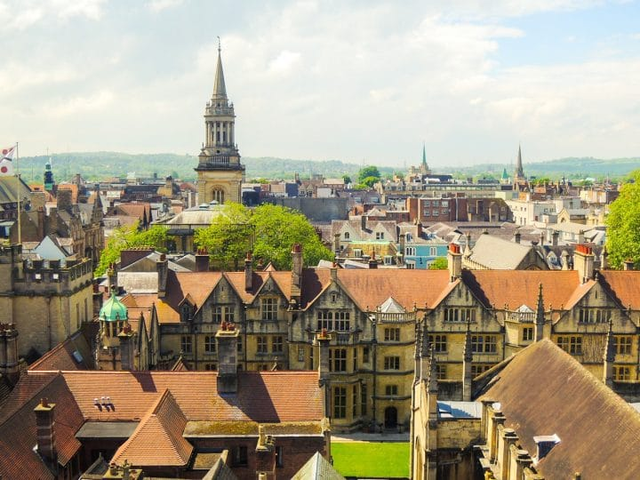 The best areas to stay in Oxford