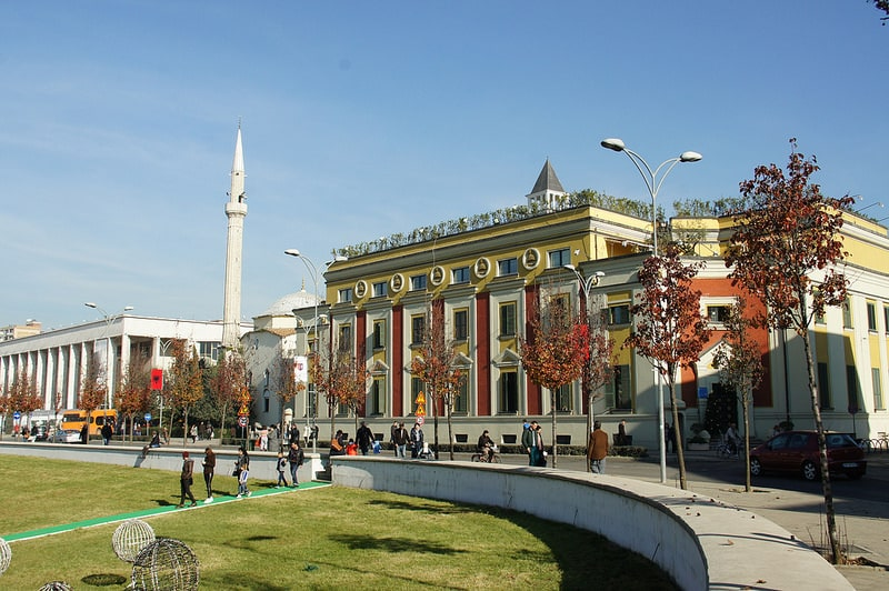 Stay in the center of Tirana