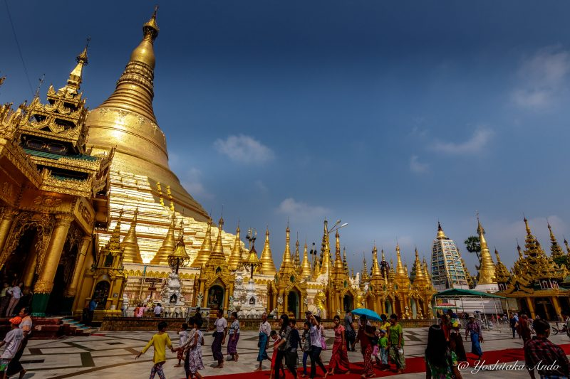 Stay in Central Yangon