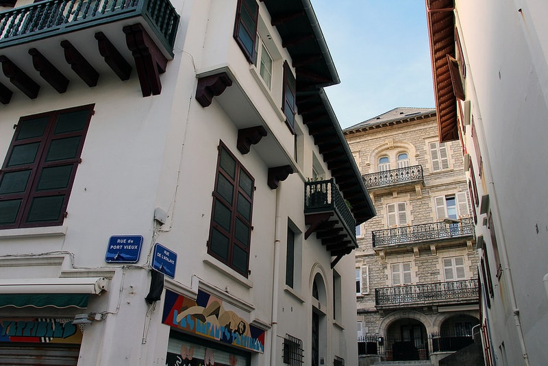 Stay in the center of Biarritz