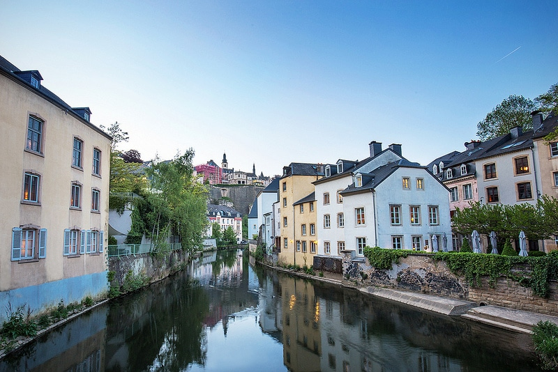 Stay in Grund, Luxembourg