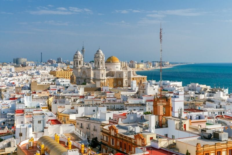 Stay in the Old Town of Cadiz
