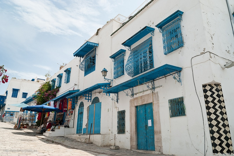 Stay in Sidi Bou Said, Tunis