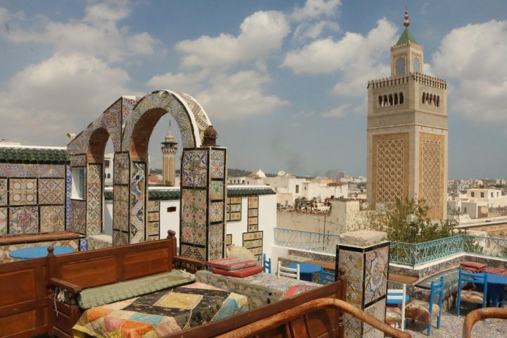 The best area to stay in Tunis