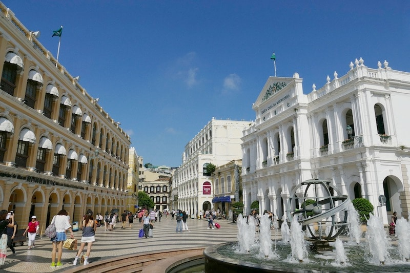 Stay in the Center of Macao
