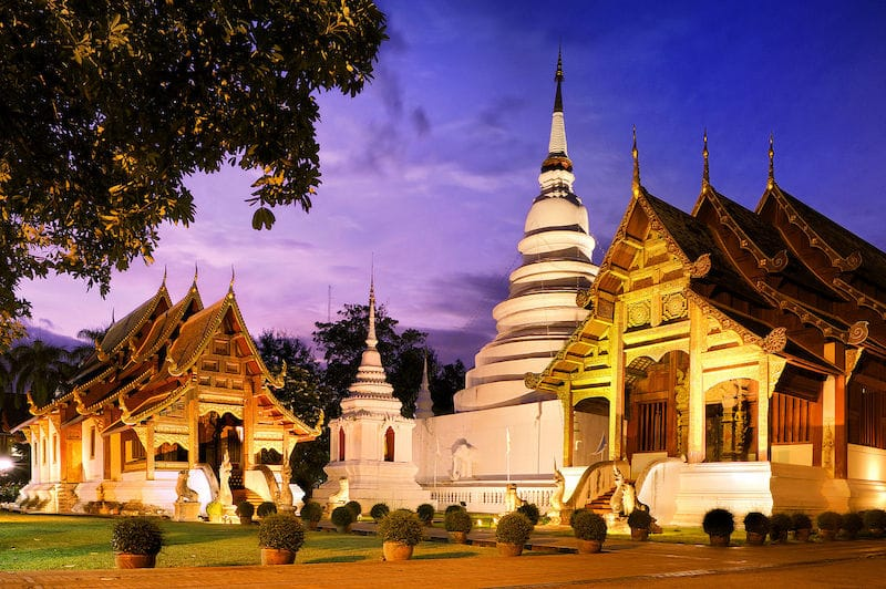 Stay in the Old City of Chiang Mai