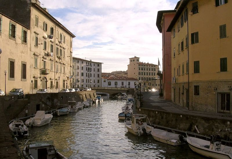 Stay in the modern part of Livorno