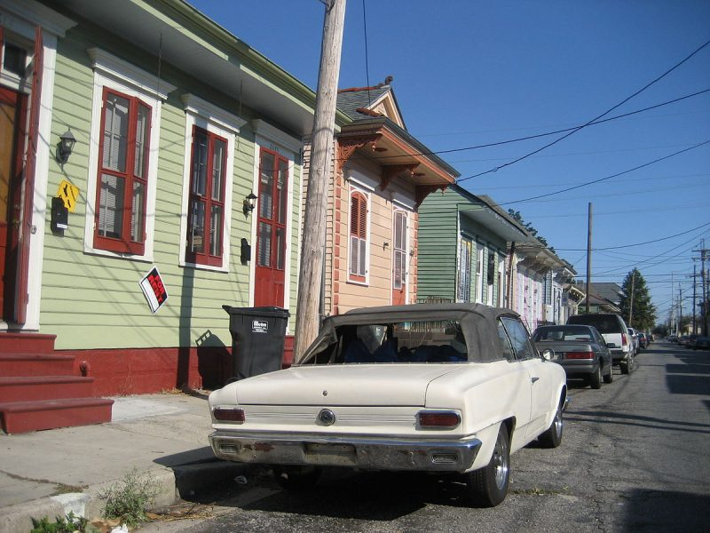 Suburb of Marigny new orleans