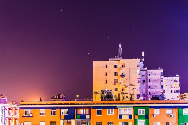 The best areas to stay in Tirana