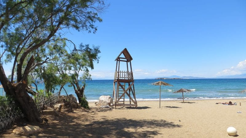 Visit the beaches of Athens