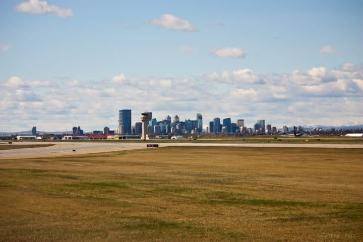 Finding cheap parking at Calgary International Airport