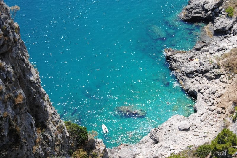 Visit the beaches of Capri