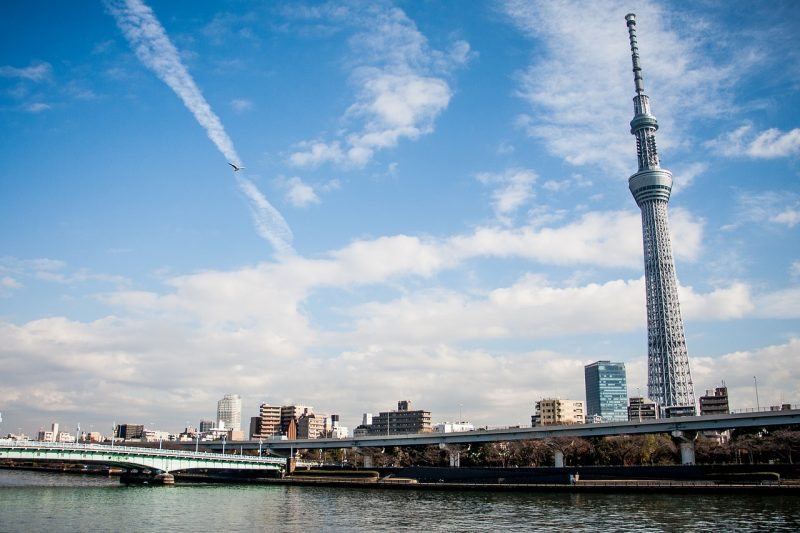 Get pictures of or from the Tokyo Skytree