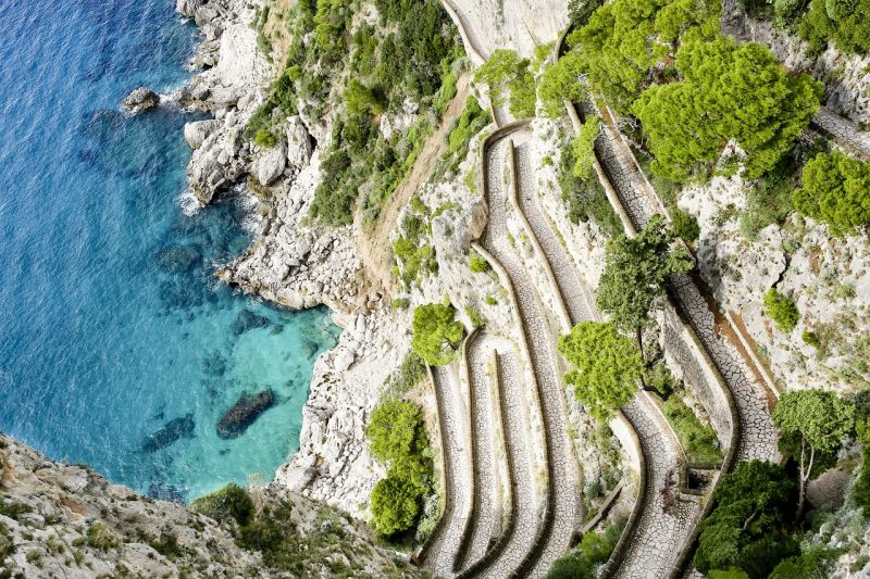 Visit the Via Krupp, Capri