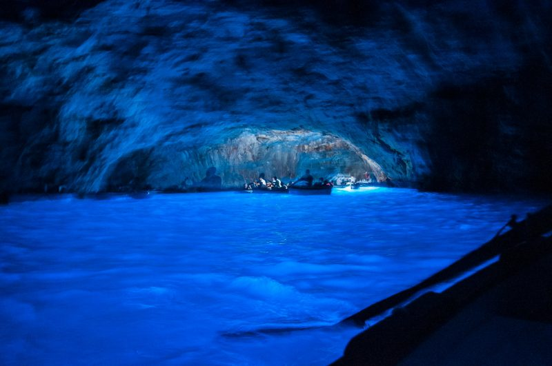 Visit the Blue Grotto, Capri, Naples, Italy