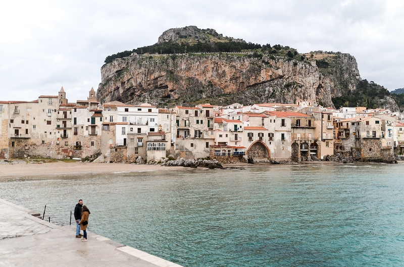 Visit the rock of Cefalu