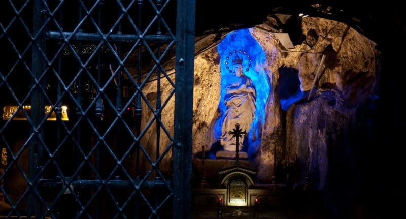 Visit the Sanctuary of Santa Rosalia, Palermo