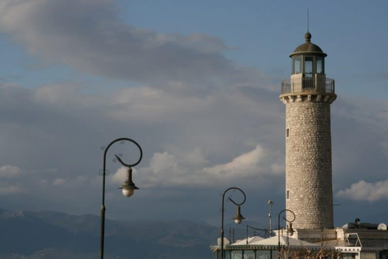 Visit the Patras Lighthouse