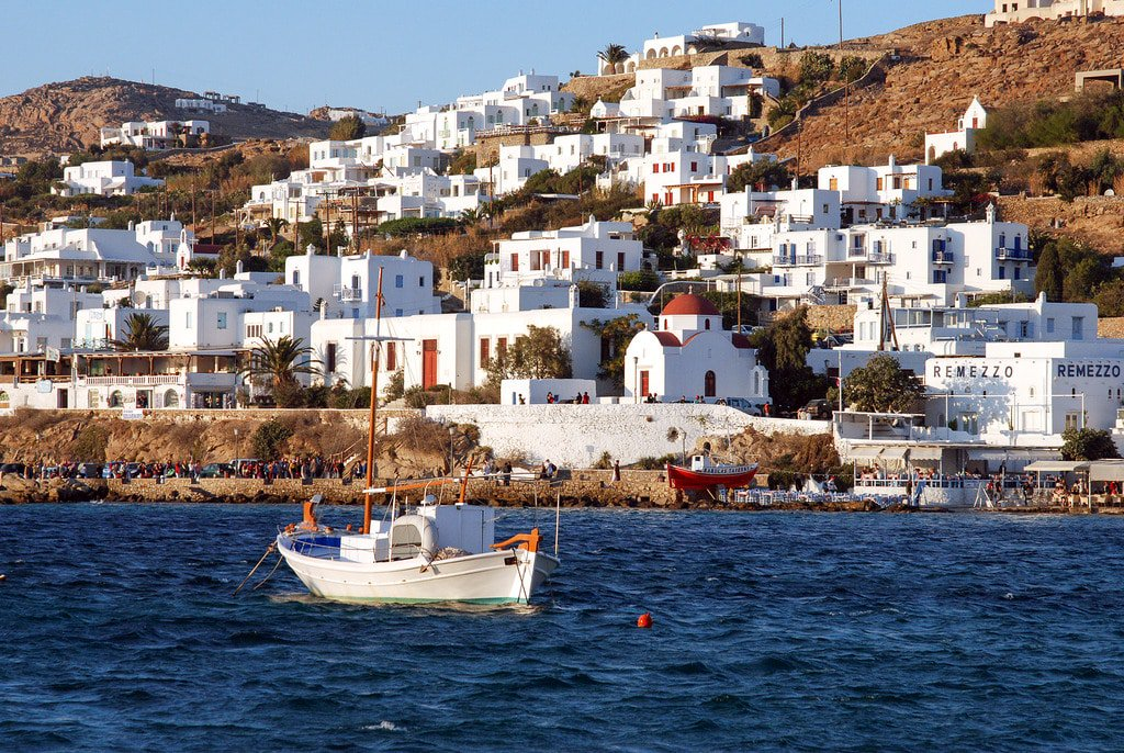 Visit Greek Island of Mykonos