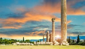 Visit the Olympieion, Athens