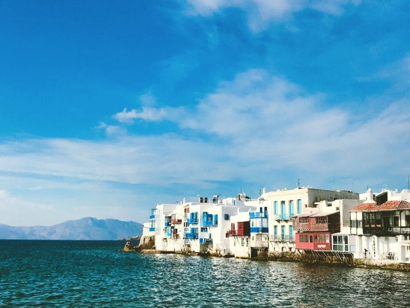 Athens to Mykonos by ferry