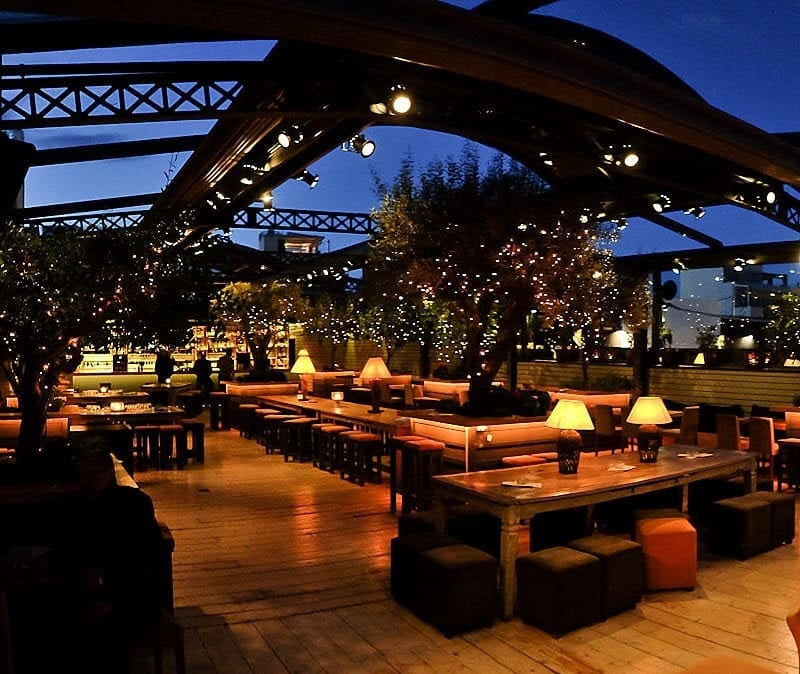 Best rooftop bars in Athens