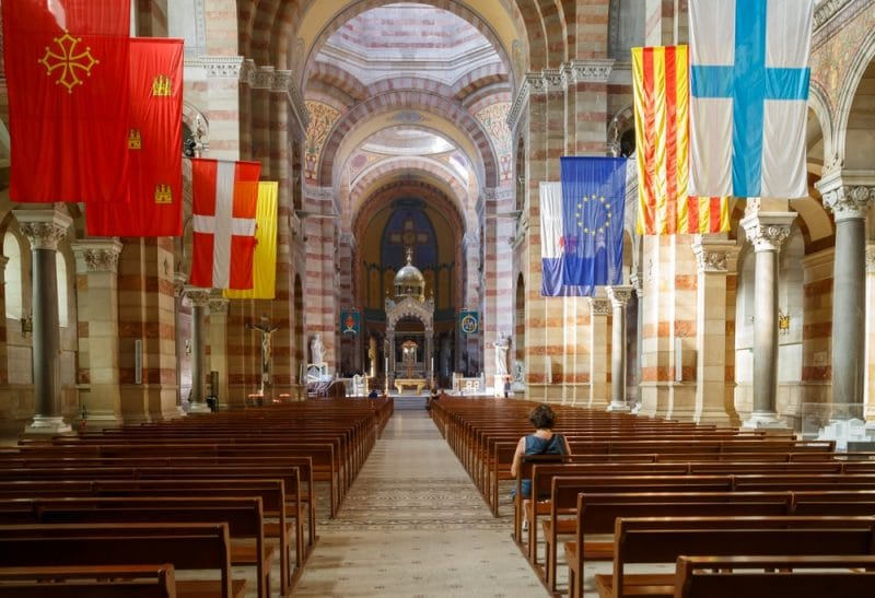 Visit the Cathedral of the Major in Marseille