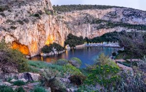 Visit Lake Vouliagmeni near Athens: tickets, rates and opening hours