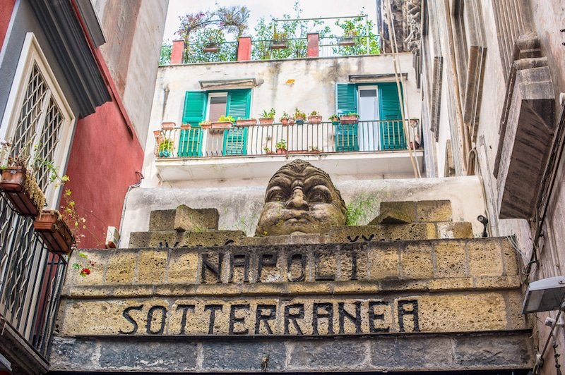 Visit the underground of Naples