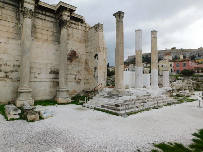 Visit the Roman Agora in Athens